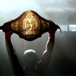 A shot of the Contender Belt on the show itself.