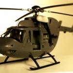 "Model of the helicopter from the movie ""Mission Impossible"", given to a contractor working on the movie."