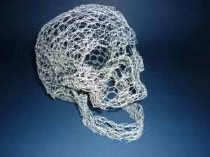 skull wireframe