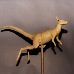 Kangaroo Clay Sculpture