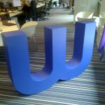 Wunderman Logo Sculpture